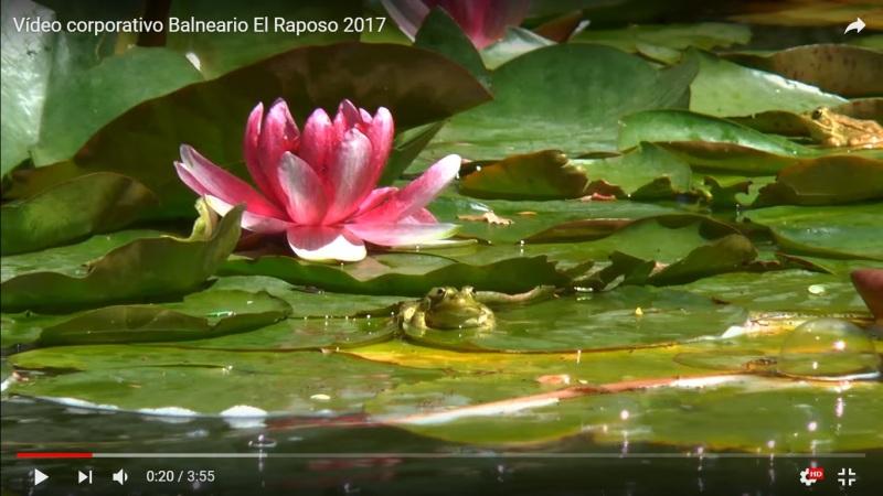 Vídeo promocional, Balneario ElRaposo