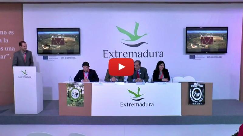 Vídeo de la presentación oficial del vídeo turístico de Medellín en FITUR2018