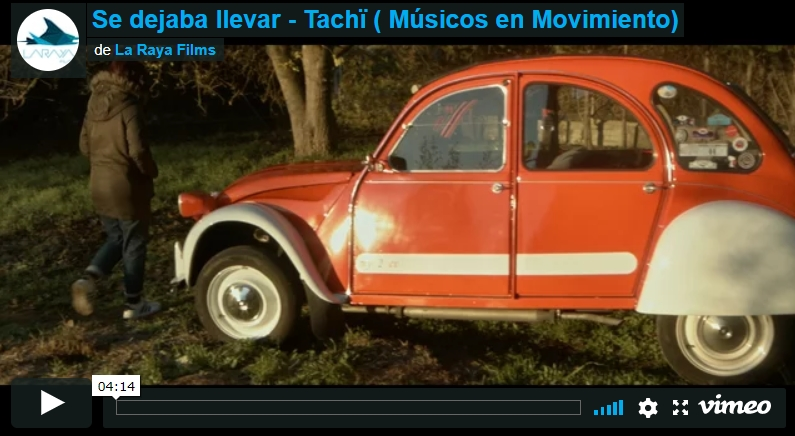 Tachï – Se dejaba llevar – Videoclip musical (Músicos enmovimiento)