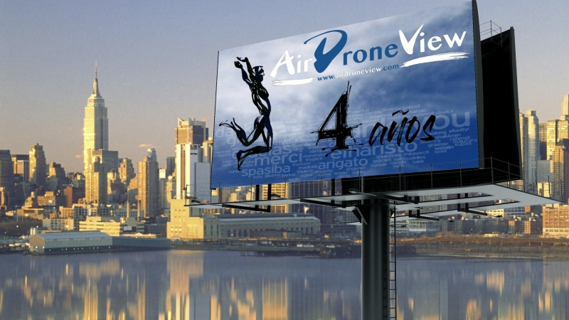 ¡Celebramos 4 años de Air DroneView!