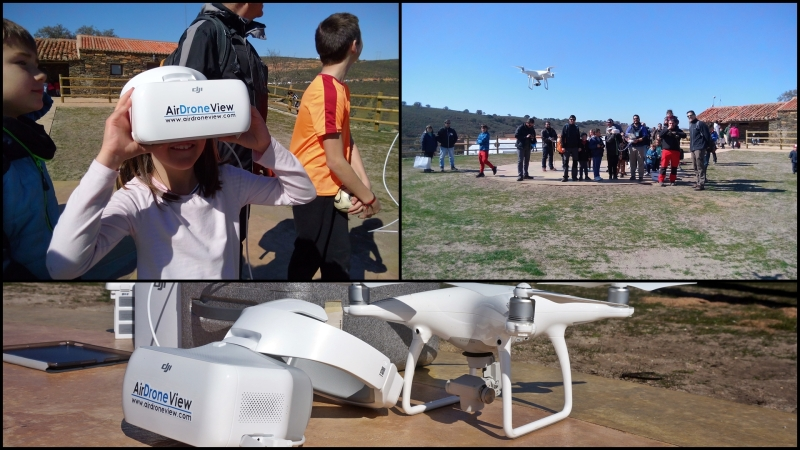 """Exhibiciones y actividad """"a vista de pájaro"""" en la provincia de León – Air DroneView"""