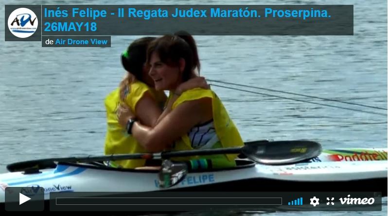 Inés Felipe en la II Regata Judex Maratón, enProserpina