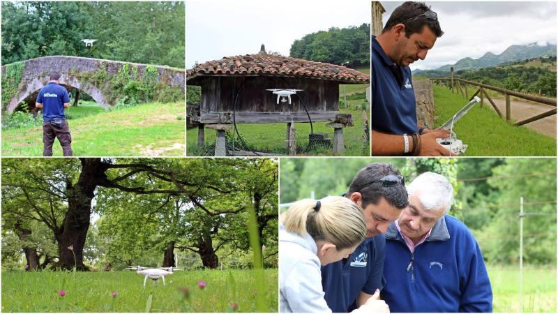 Recorriendo Asturias, a vista dedrone