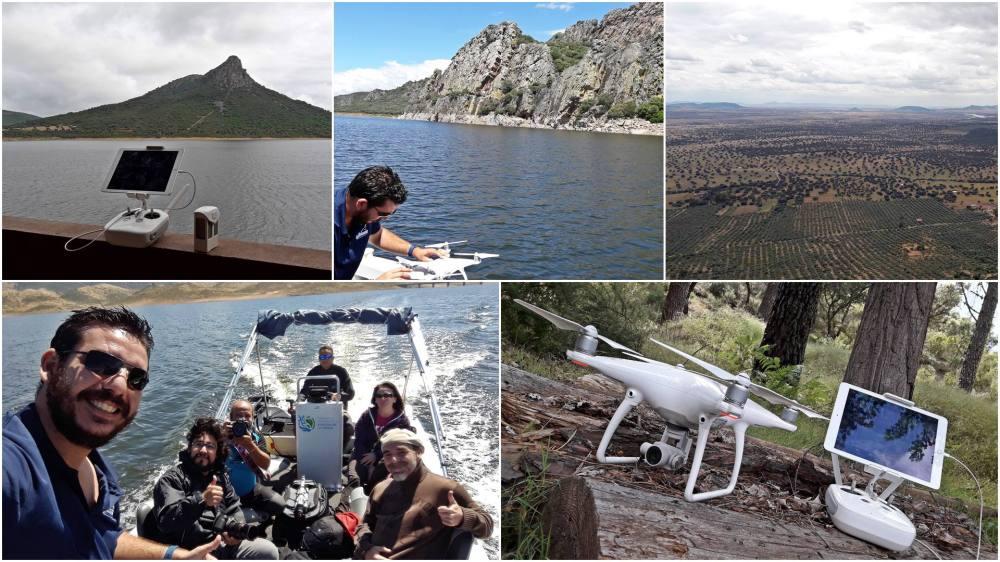 airdroneview drones extremadura la siberia operadores vuelo video promo turismo turistico reserva de biosfera layesca extremadura drones uav badajoz caceres