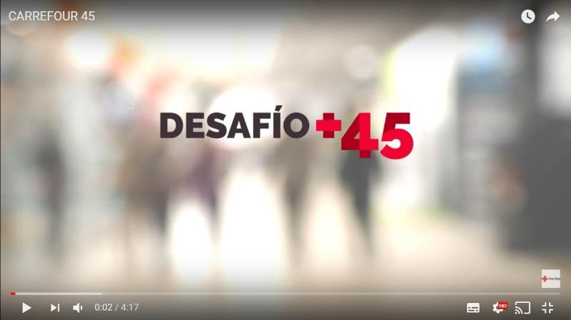 """Vídeo del Proyecto """"Desafío +45"""" de CruzRoja"""