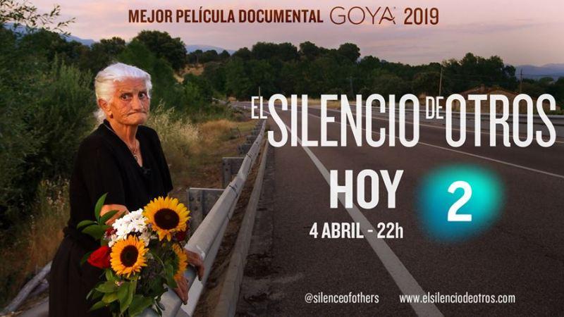 """Esta noche se estrena en la 2 """"El Silencio deOtros"""""""