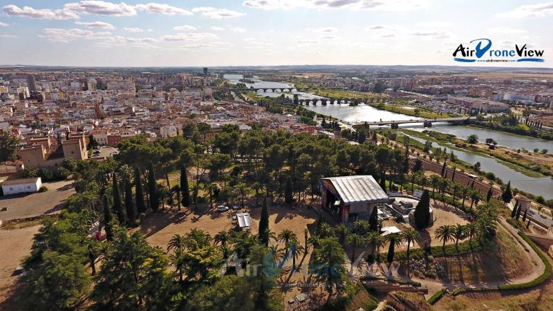 La Alcazaba de Badajoz, ¡¡desde lasalturas!!