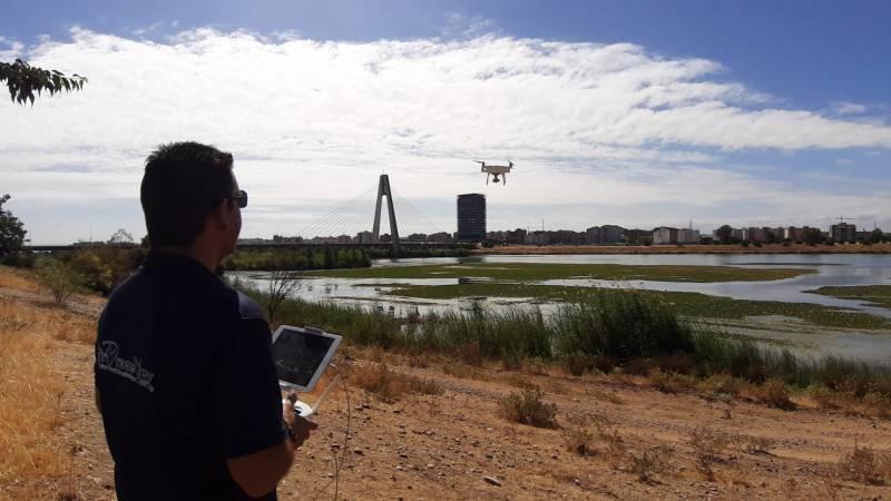 El Puente Real a vista de drone…(y 5 años esperando paragrabarlo)