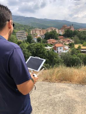 air drone view operadores turismo hervas los conversos caceres barrio judio historia tradiciones (4)