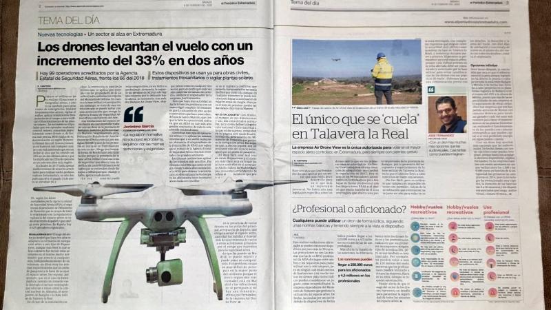 """Noticia de El Periódico Extremadura: El único que se """"cuela"""" en Talavera laReal"""