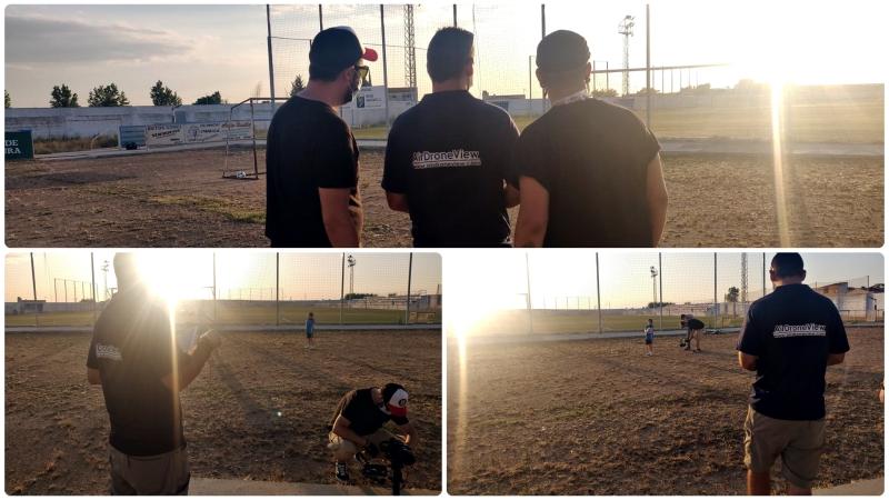 De rodaje con NEWTRAL para un reportaje de La Sexta sobre el Club DeportivoTACÓN