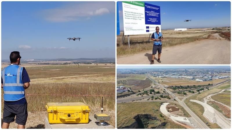 Seguimiento de obra civil en los accesos a la plataforma logística deBadajoz