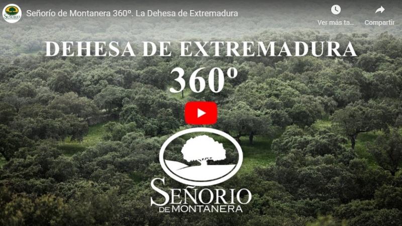Vídeo aéreo 360 para Señorío de Montanera, con The ThreeDragons