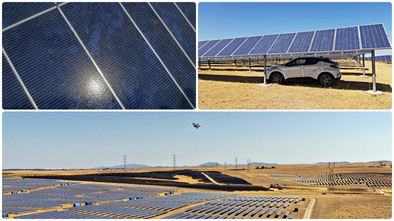 De inspección solar por la provincia deSevilla