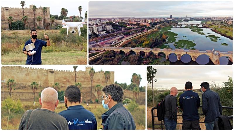 De rodaje en Badajoz para un documental muyespecial