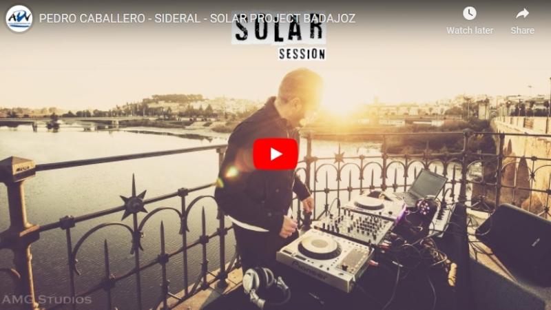 Solar Project, la sesión al amanecer en Badajoz del DJ PedroCaballero