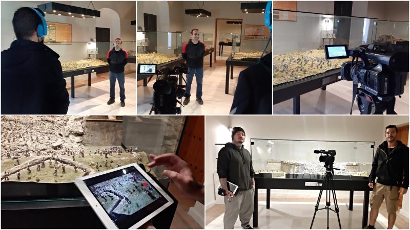 Entrevista en el Museo Luis de Morales deBadajoz