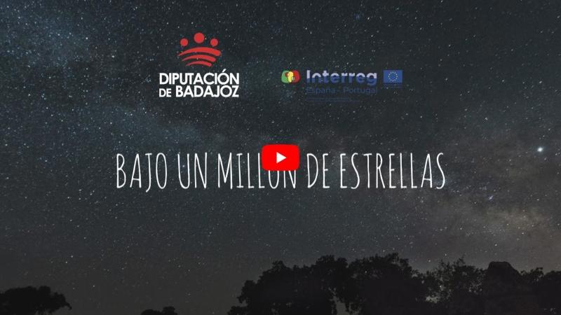 Provincia de Badajoz, bajo un millón deestrellas