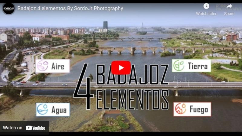 Badajoz 4 elementos, el vídeo de Badajoz de FITUR, con DavidSordo