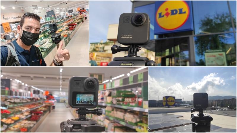 Inspección industrial y recorridos 360º en LIDL de Granada y deTorremolinos