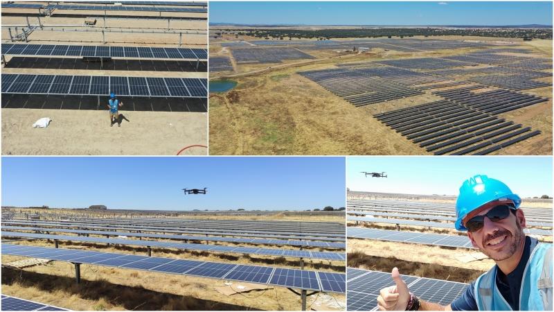 Seguimiento de obra en Planta SolarFotovoltaica