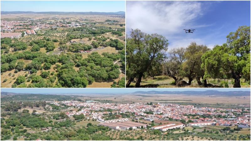Filmación inmobiliaria en San Vicente deAlcántara