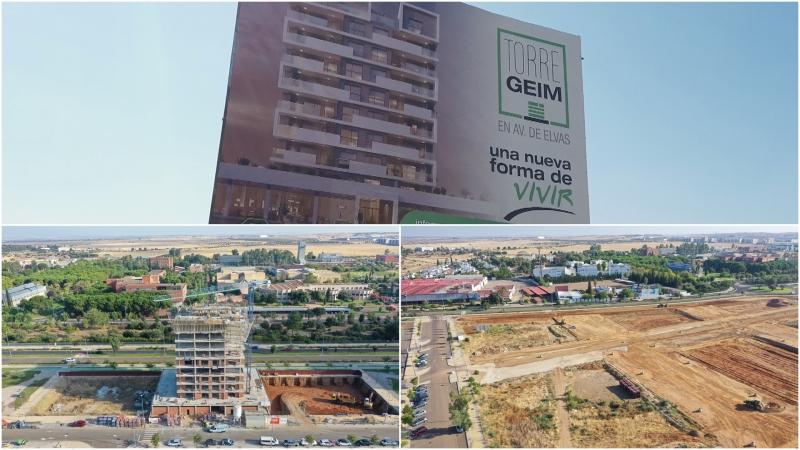 Grabando en Badajoz para proyecto inmobiliario de CivitasPacensis